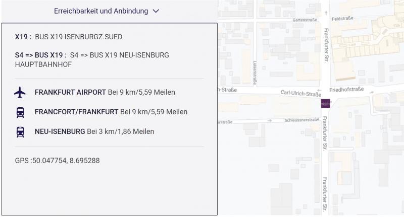 Neu-Isenburg Mercure Karte 2